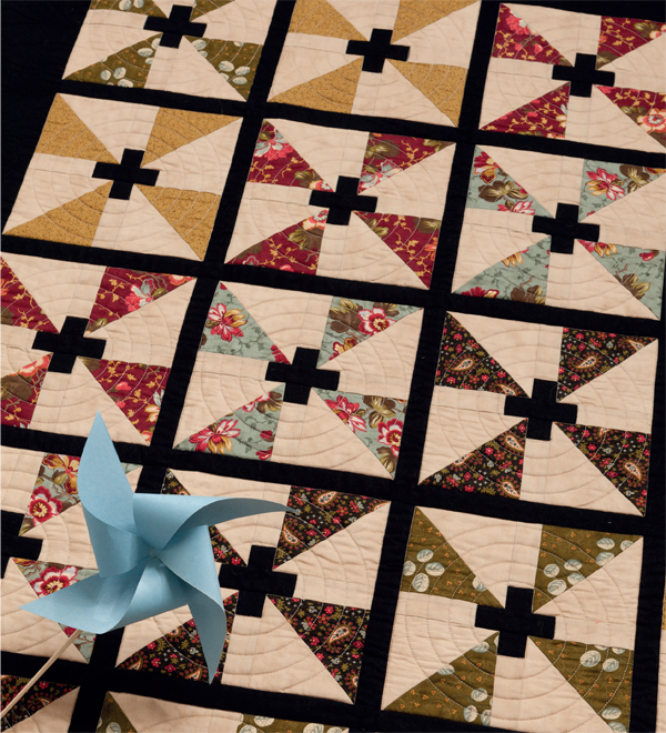 Staying Focused fat quarter quilt
