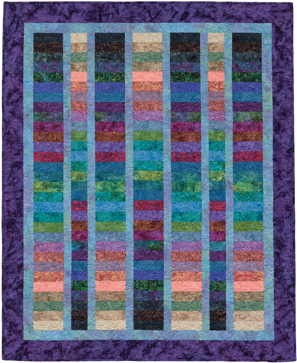 Color Gradations quilt