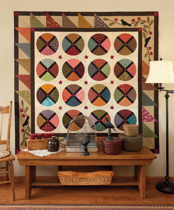 Four and Twenty Blackbirds quilt
