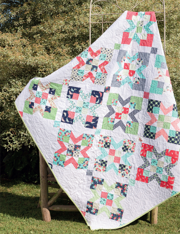 By the Seashore Jelly Roll quilt