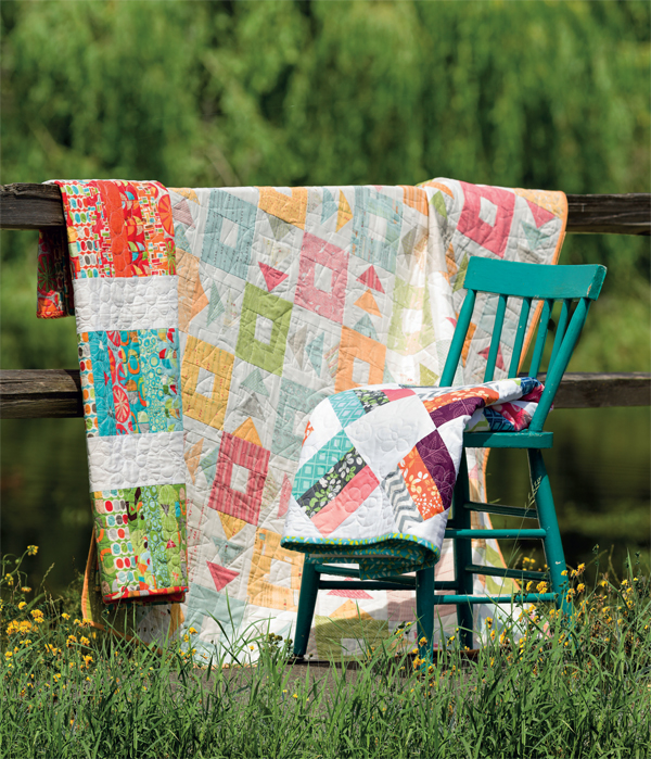 Fly Away Home Jelly Roll quilt