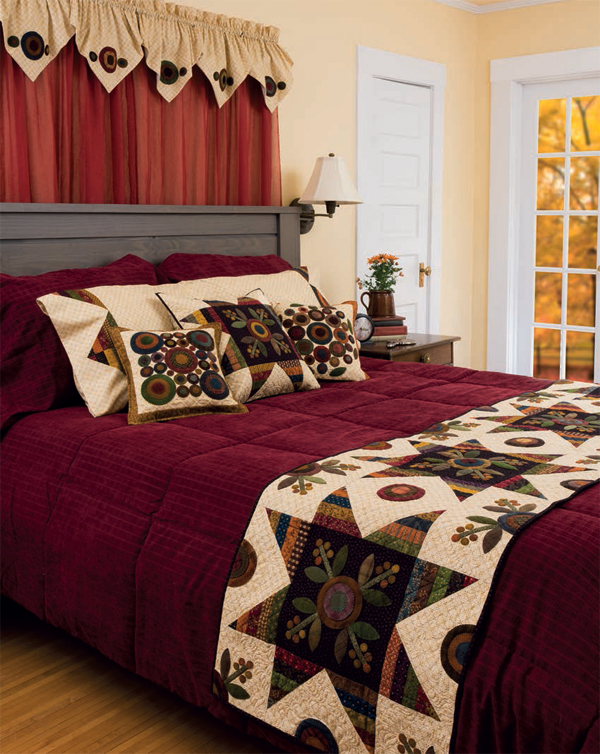 Autumn Abundance Bedroom Set