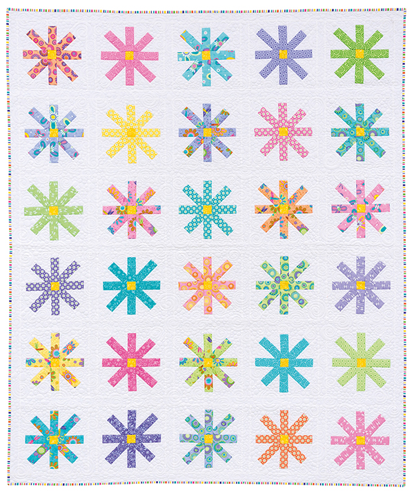 Pieced Flower quilt