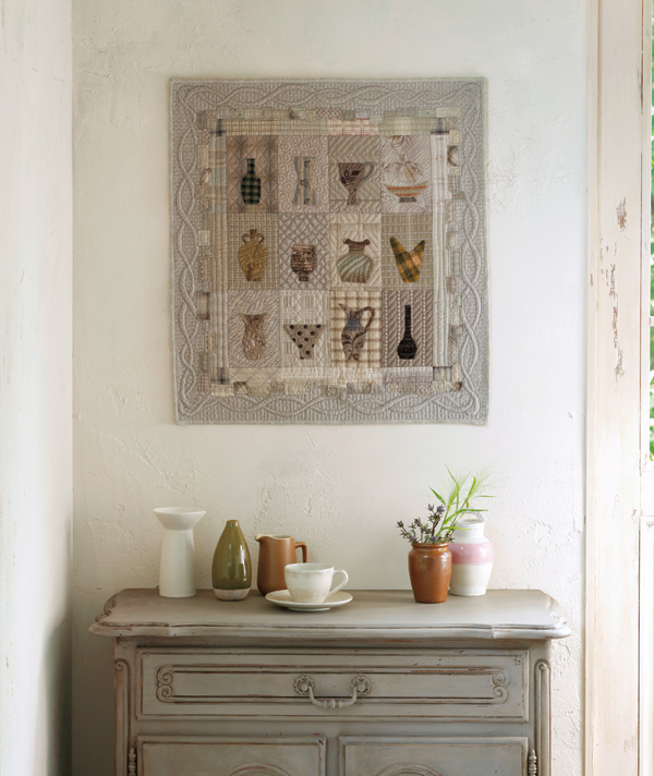 Earthenware Wall Quilt