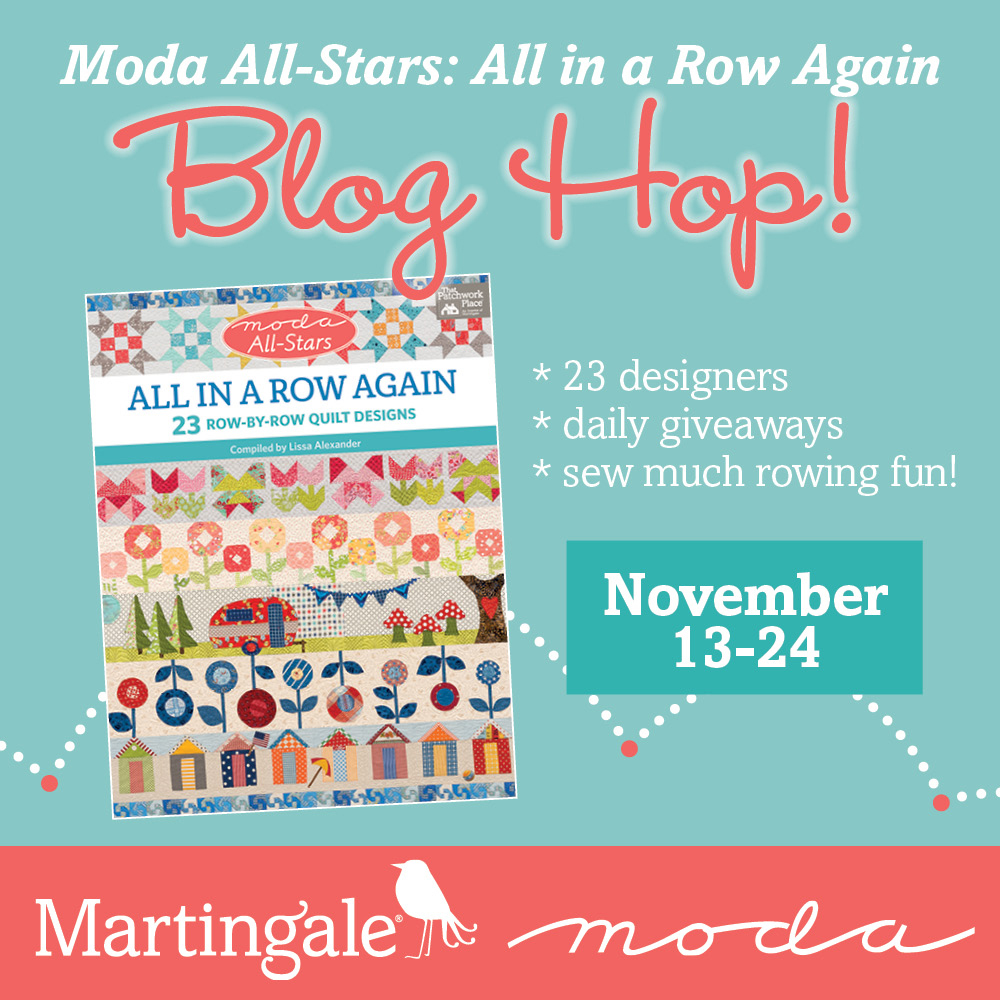 Moda All-Stars All in a Row Again blog hop