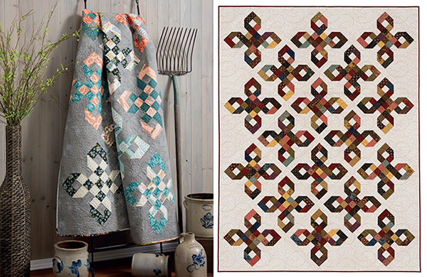 English Knot quilt