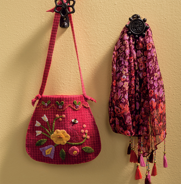 Spring Bouquet Bag