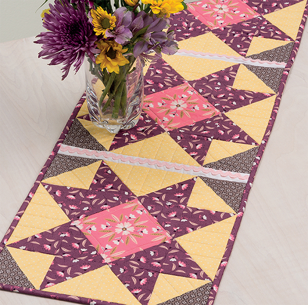 Spring Meadow Table Runner