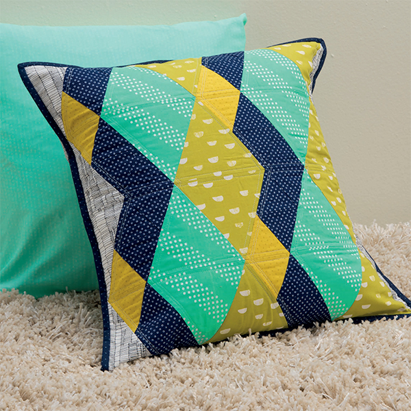 Zig Zag Triangles Pillow