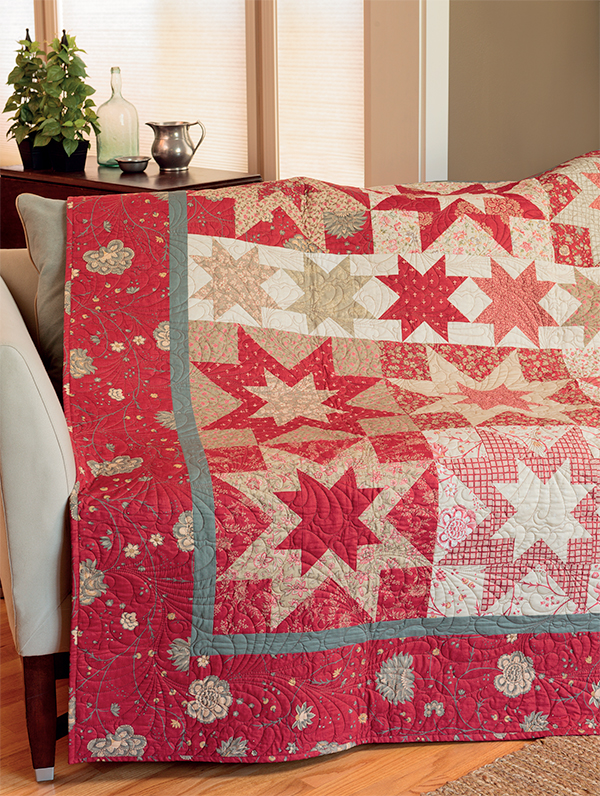 Rugby Stars quilt