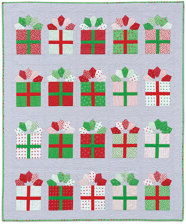 Gift Wrap quilt