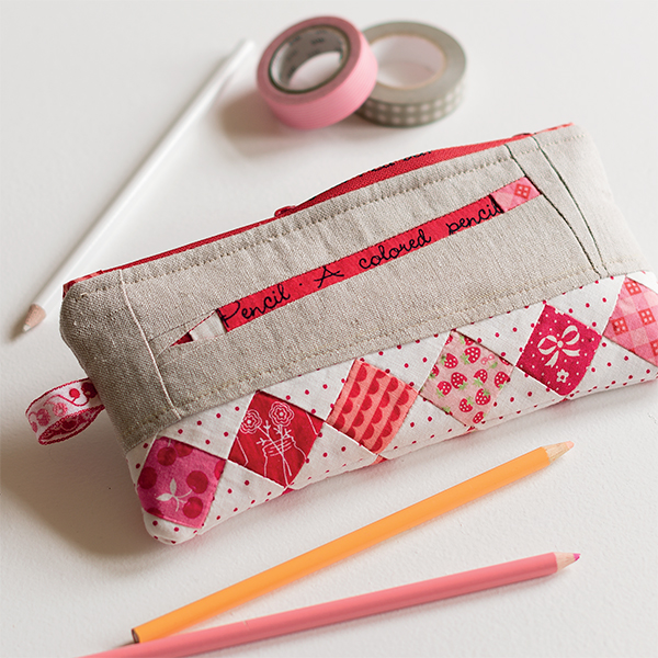 Colored-Pencil Pouch