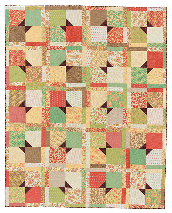 Flipping Out quilt
