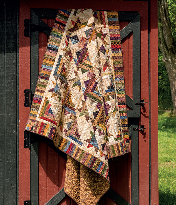 Raise the Roof quilt