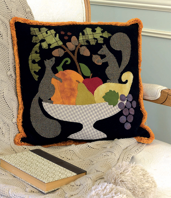 Autumn's Bounty Pillow