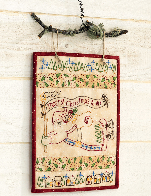 Merry Christmas to All quilt