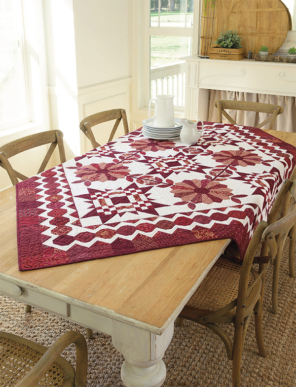 Scarlet Song quilt