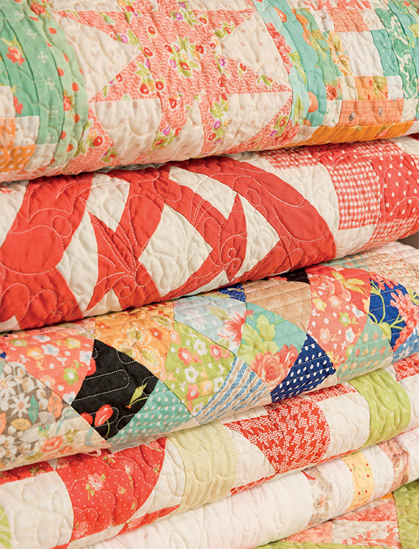 Quilts from Start with Strips