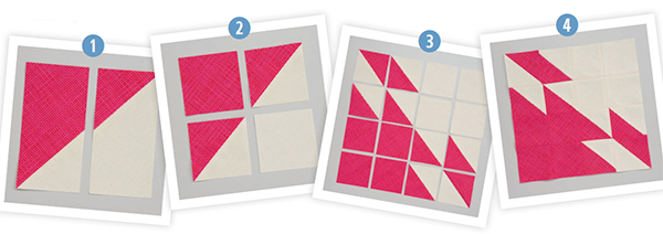 Turnabout Patchwork blocks
