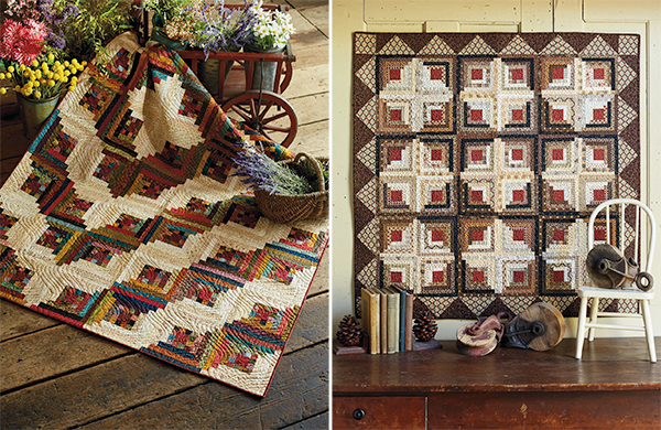 Courthouse Steps quilts