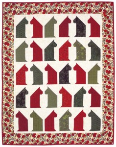 Christmas Cat Chat Quilt