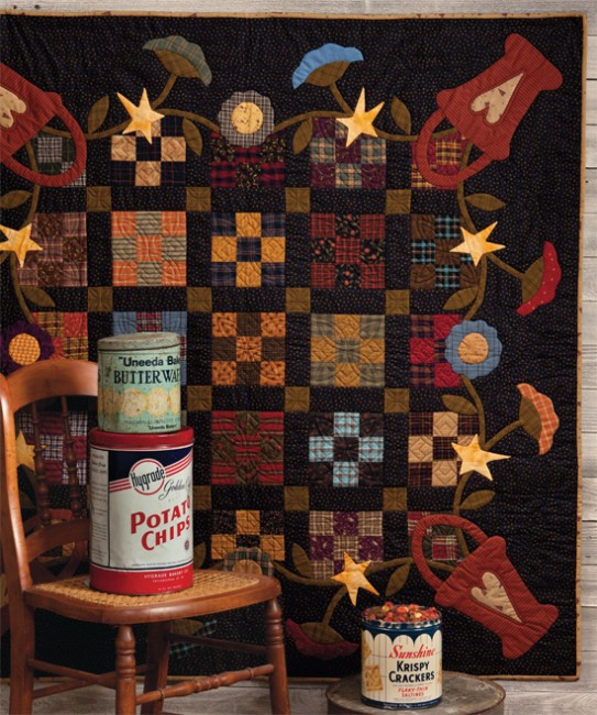 At Home with Country Quilts 5