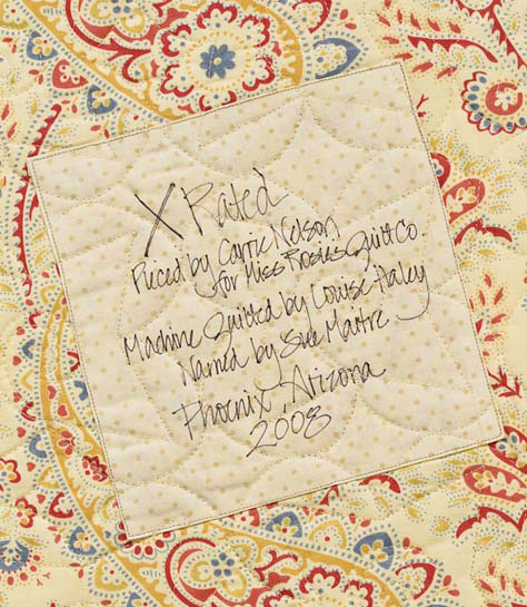 How To Label A Quilt 7 Ideas From Popular Authors Stitch