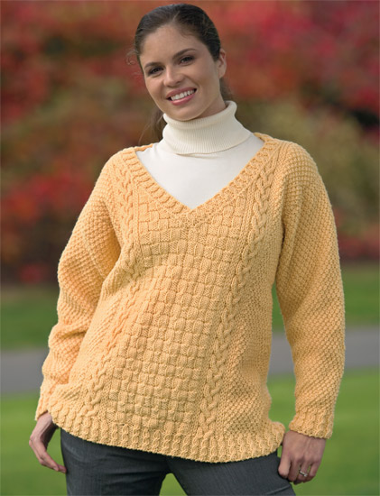cable sweater from Cable Confidence 3
