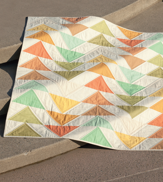 In Formation quilt from Skip the Borders