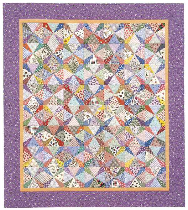 Shadow Star quilt from Quilt Revival