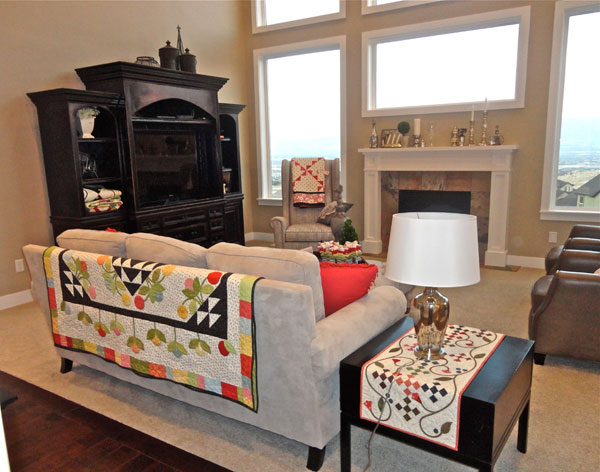 Home Sweet Quilt--living-room decor