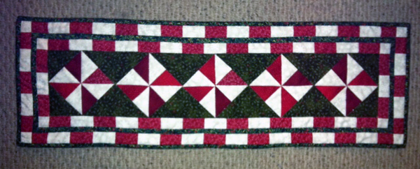 Peppermint Candy runner from Barbara