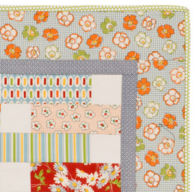 Example of straight-cut quilt border