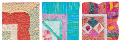 Examples of mitered quilt borders
