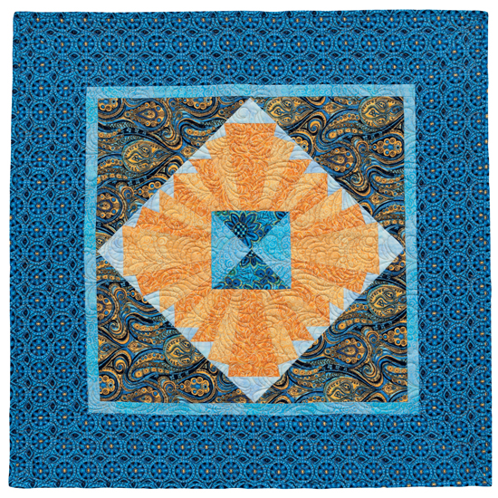 Casablanca Sunrise quilt