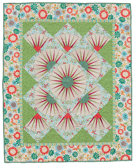 Katie's Points of View quilt