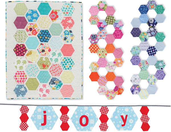 Projects from Hexagons Made Easy