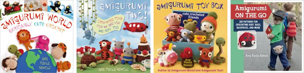 Amigurumi books from Ana Paula Rimoli