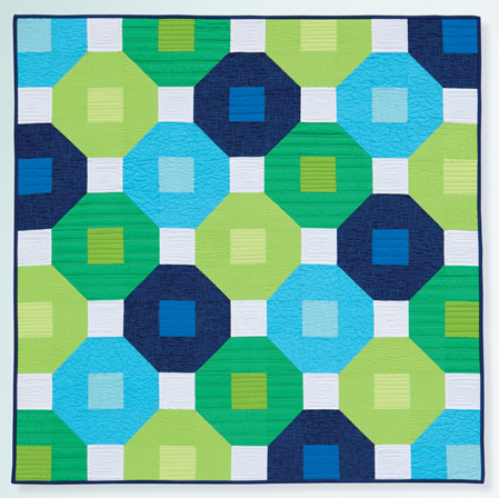 Busy Blocks quilt