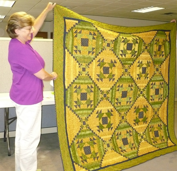 Mary's anniversary quilt