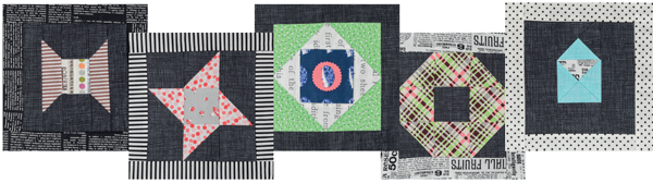 Patterns from 25 Patchwork Quilt blocks 2