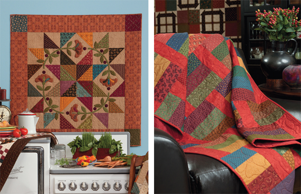 Prairie Star Posies and Penny Pincher quilts