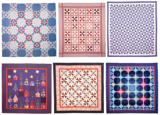 Quilts from The Joy of Quilting