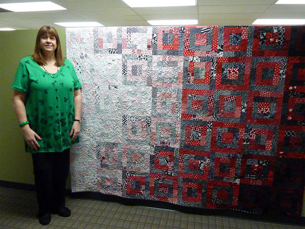 Shelley's anniversary quilt