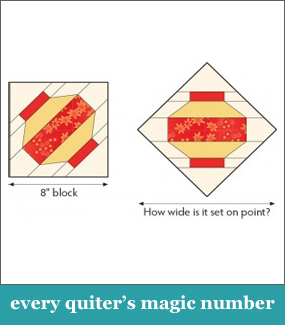 Every quilter's magic number