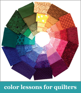 Color lessons for quilters