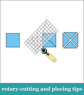 Rotary cutting and piecing tips