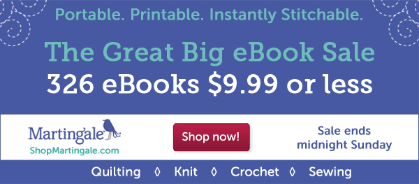 eBooks $9.99 or less--this weekend only!