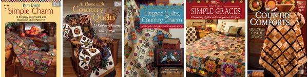 Country-quilt eBooks--$9.99 or less