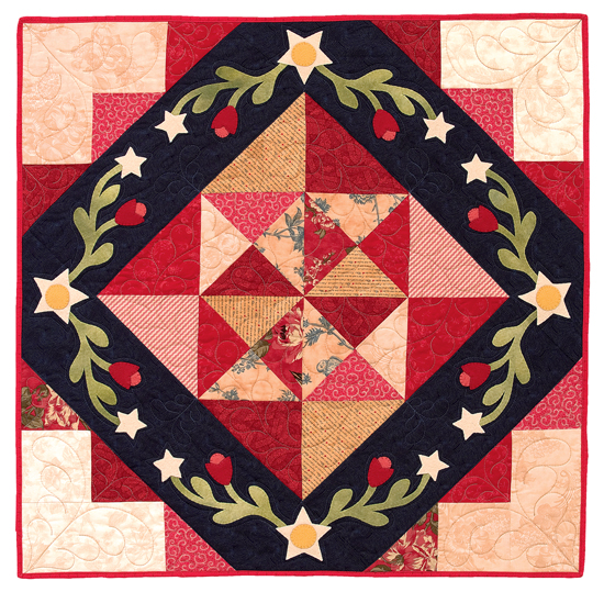 America the Beautiful quilt